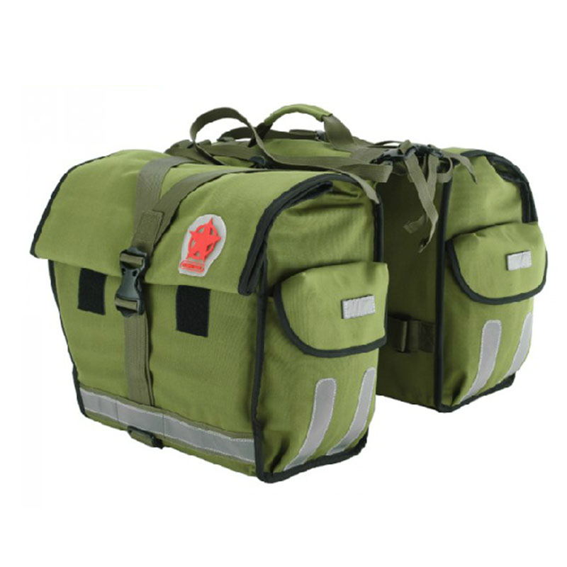 Bicycle Basket Waterproof Double Pannier saszetka na rower Bike Bag Bicycle Bag Rear Seat Pouch 40-50L Trunk Rack Carrier Bag conifer travel bicycle rack bag carrier trunk bike rear bag bycicle accessory raincover cycling seat frame tail bike luggage bag