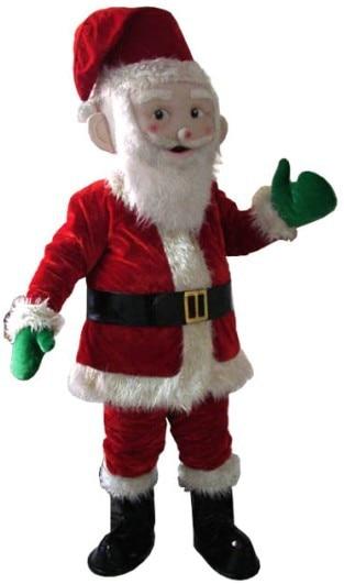 Santa Claus Mascot Costume Christmas cosplay Mascot Costume Free Shipping santa claus mascot costume christmas cosplay mascot costume free shipping