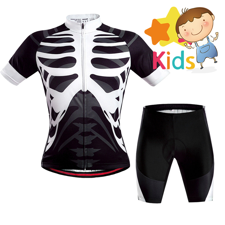 Team Kids Cycling Jersey Set Children Bike Suit Bicycle Cycling Set Ropa  Ciclismo QuickDry Breathable Boys and Girls-in Cycling Sets from Sports ... 0371b8d62