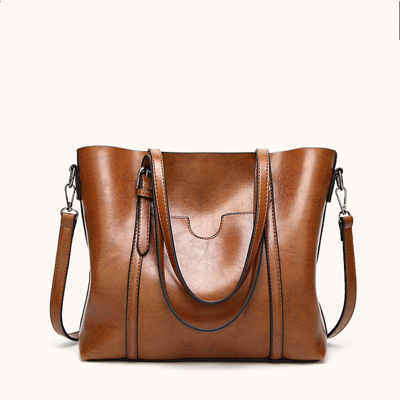 PU Leather Handbags Big Women Bag High Quality Casual Female Bags Trunk Tote Spanish Brand Shoulder Bag Ladies Large longmiao brand designer high quality women shoulder bag casual pu leather female big tote bag ladies handbags bolsa feminina page 8