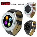 ZGPAX S366 Bluetooth Smart Watch Wrist Smartwatch Wristwatch G+G Capacitive Round Screen Anti-lost Sync for IOS Android 4.4 Mate