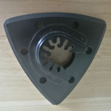 93 Mm Flush Driehoekige Schuurzool Oscillerende Zaagblad Voor Fein, Bosch, Makita