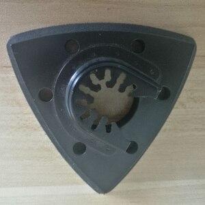 Image 1 - 93mm Flush สามเหลี่ยม Sanding Pad ใบเลื่อยใบมีดสำหรับ Fein Bosch Makita