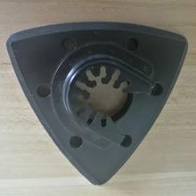 Almohadilla de lijado Triangular oscilante de 93mm para Sierra de Fein, Bosch, Makita
