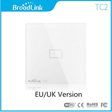 EU UK Commonplace Broadlink TC2 Wi-fi 1 Gang Wall Gentle Swap Wifi Distant Management Contact Display Swap Good Dwelling Automation