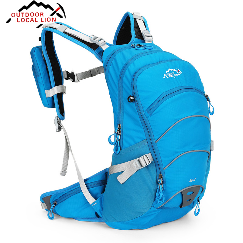 20L Sport Cycling Backpack Man Nylon Water Bladder Rucksacks Outdoor Pack Road Bag marathon Knapsack Woman Ride Running Bag