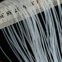 Мини 0,5 мм, силиконовая резина трубки 0,5x1 0,5x1,5 0,5x2 0,5x3 мм прозрачный шланг Водостоки