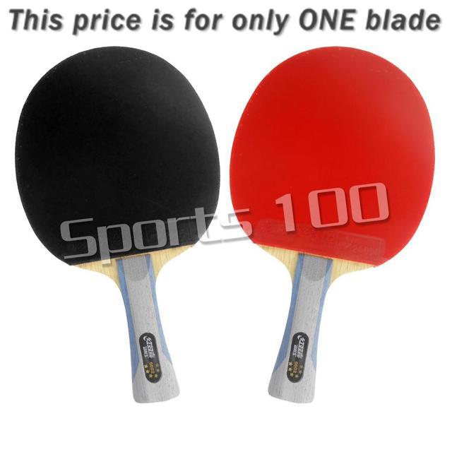 DHS 6002 Long Shakehand FL Table Tennis Ping Pong Racket + a Paddle Bag