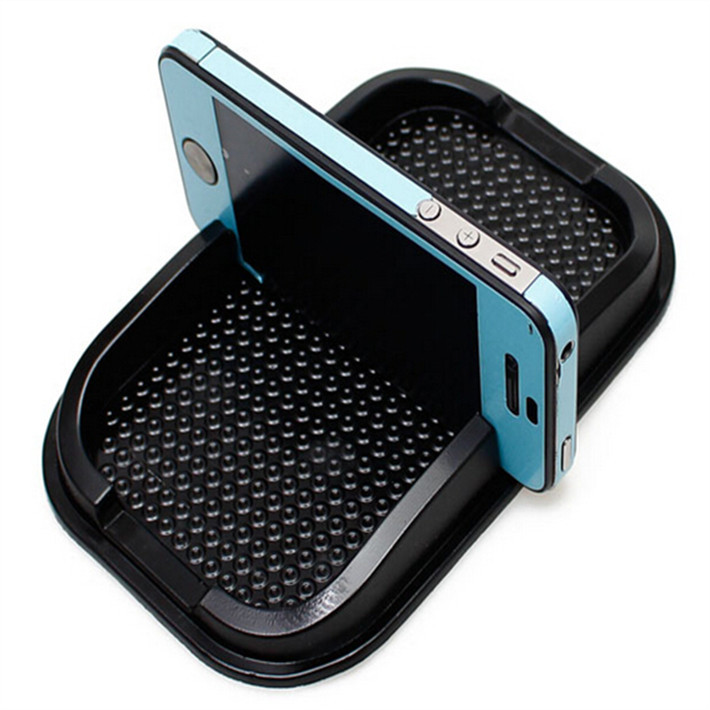 multi function car Anti Slip pad Rubber Mobile Sticky Dashboard Phone Shelf Antislip Mat For font