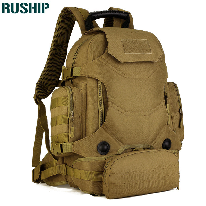 Men's Hunting Military Tactics Backpack Waterproof Nylon Hike Camp Backpacks Outdoors Bags Camouflage Multifunction Rucksack outdoors waterproof nylon backpacks molle tactics backpacks laptop backpacks military backpack rucksacks travel bag pack