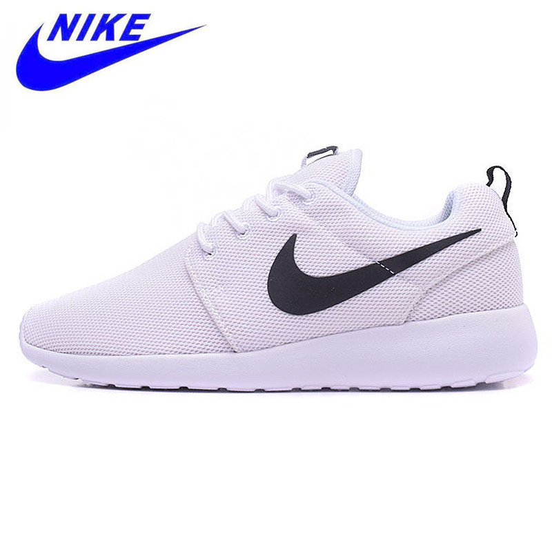 the latest 1228f bdc06 Nike Roshe Run Breathable Women s Running Shoes,Trainers Shoes Original New  Arrival Women Outdoor Sports Sneakers
