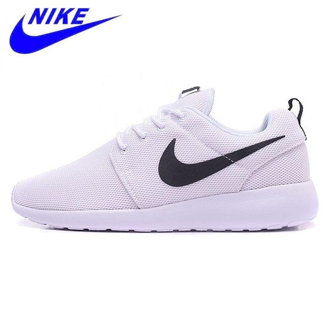 best website cc0e9 ac9af Nike Roshe correr zapatos de correr transpirables para mujer, zapatillas de  deporte originales novedad mujeres