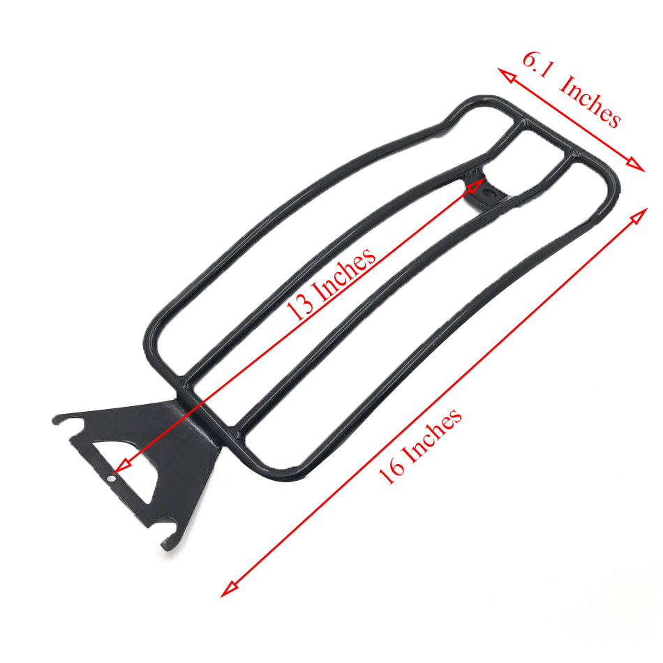 For Harley Touring Solo Seat Luggage Rack Shelf Support Rear Fender Electra Road Street Glide 1997-2015 Motorcycle Accessories (1)