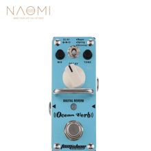Aroma AOV-3 OCEAN VERB Digital Reverb Mini Electric Guitar Effects Pedal