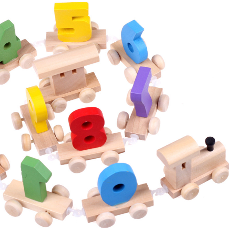Learning Education Toys Wooden Digital Montessori Math Toys Game For Children Girls Countable Material Brinquedos