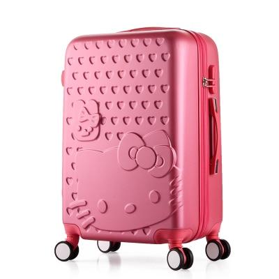 621448385911 Dropwow Hello Kitty rolling luggage cute set suitcase women trolley ...