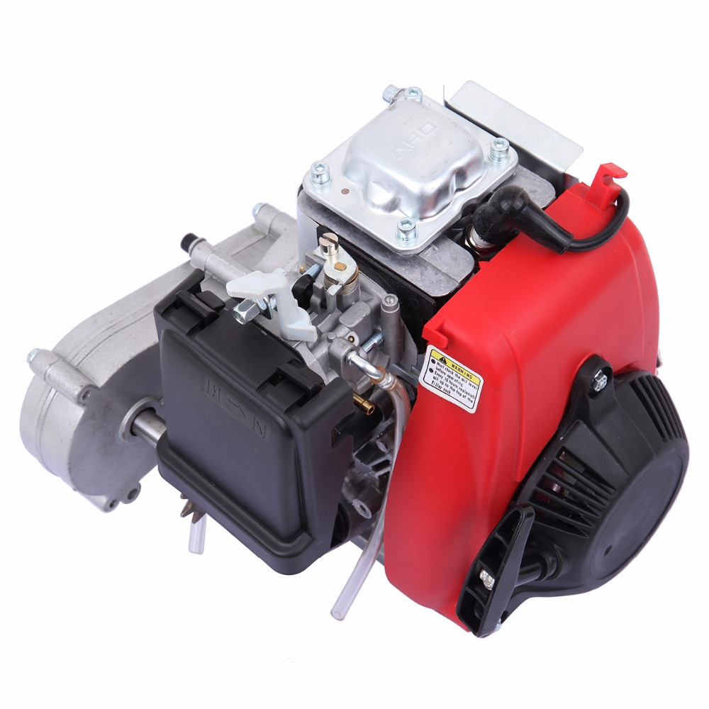 US $182 99 |(Ship from USA) 49cc 4 Stroke Cycle Motor Kit Motorized Bike  Petrol Gas Bicycle Engine set-in Generator Parts & Accessories from Home
