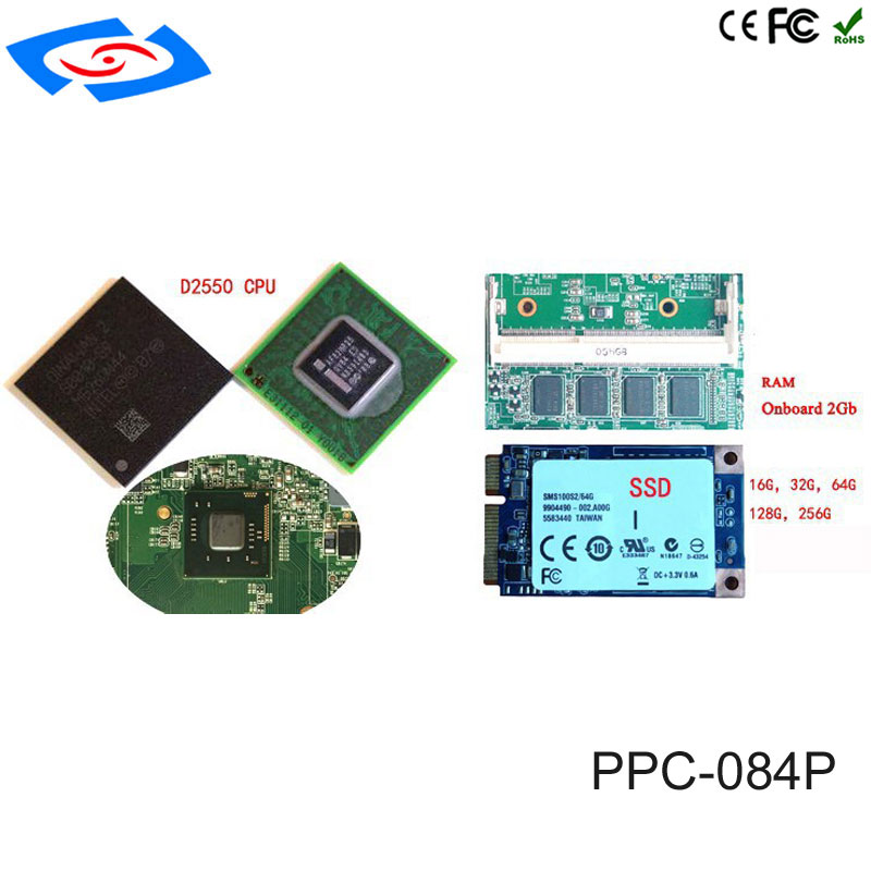 Image 4 - Low Cost 8.4 Inch Touch Screen Industrial Tablet PC IP65 Fanless Design With 800x600 Resolution 3xUSB2.0 For Factory Automation-in Mini PC from Computer & Office