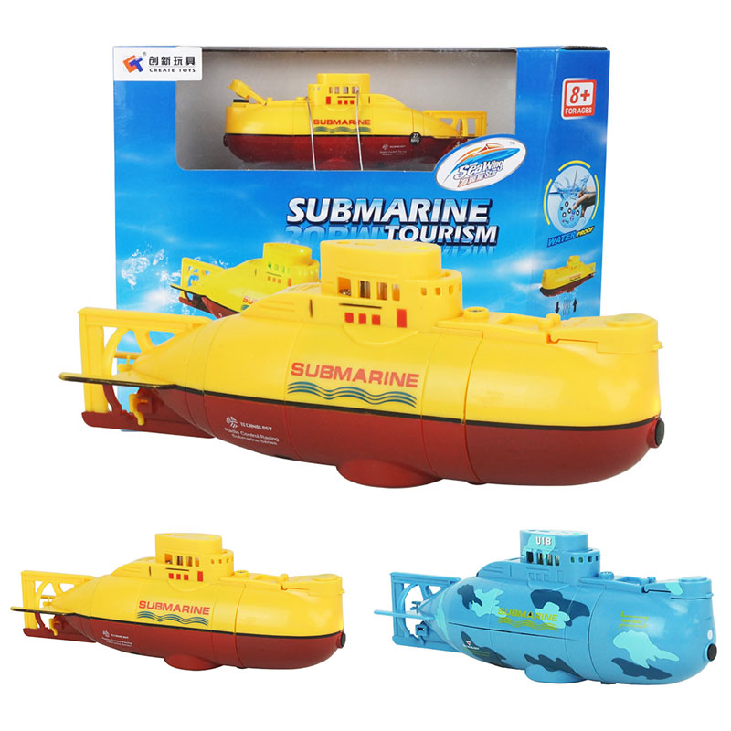 6CH Speed Radio Control Electric Mini RC Submarine Kids Children Toy Toys