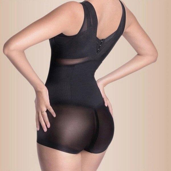 Shapewear Tummy Suit Control Underbust Women Body Shaper Slimming Underwear Vest Bodysuits Jumpsuit Correctiv L-XXL SV003223 2
