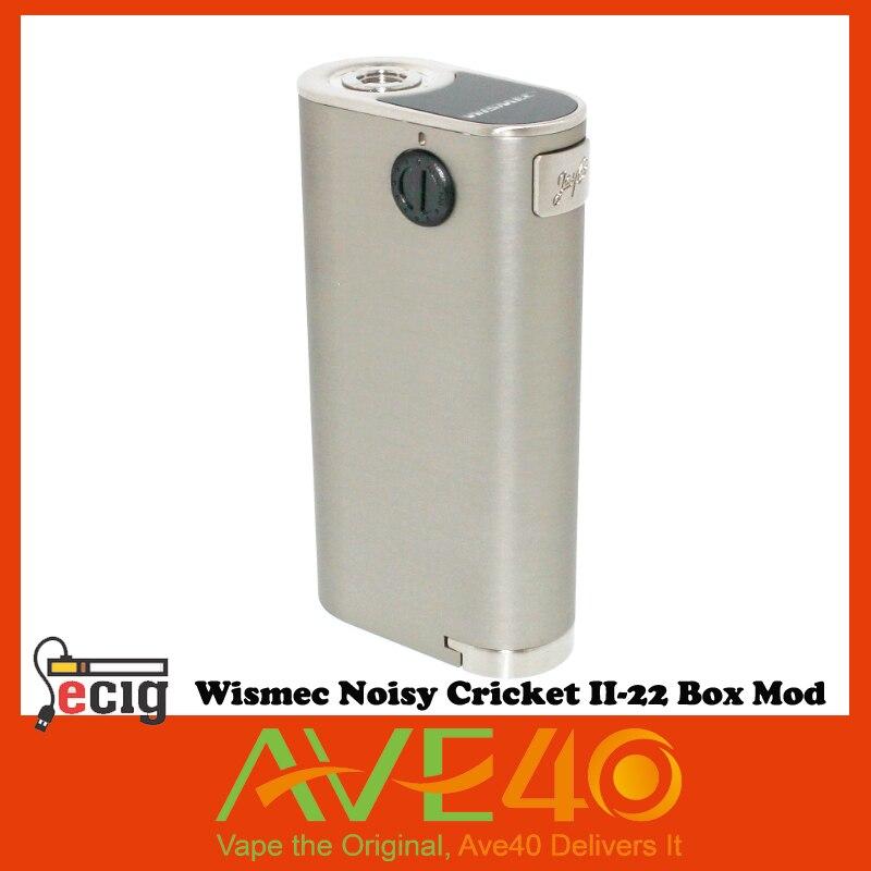 ФОТО 100% Original Wismec Noisy Cricket II-22 Box Mod Vape II 22 Vaporizer Alternative Operating Mode