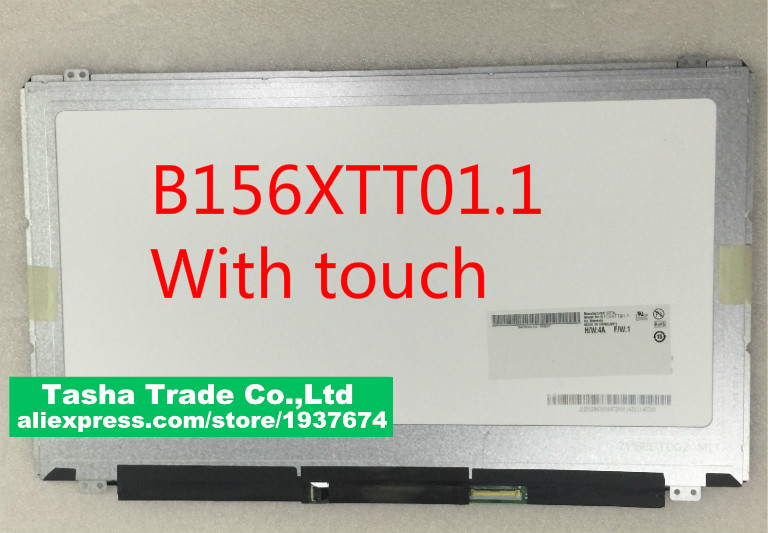 b156xtt01.1 For dell inspiron 3878 15-3878 LCD LED matrix Display with touch Digitizer Panel 1366x768b156xtt01.1 For dell inspiron 3878 15-3878 LCD LED matrix Display with touch Digitizer Panel 1366x768