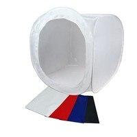 40cmx40cm 16 Photo Studio Shooting Tent Light Softbox Cube Box Kit 4 Backdrops