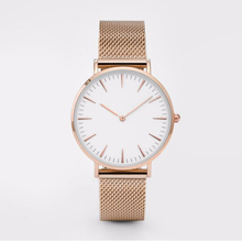 New 2017 minimalism Concise style Womens Mens Lovers Quartz Wrist Watch for Elegant and intellectual