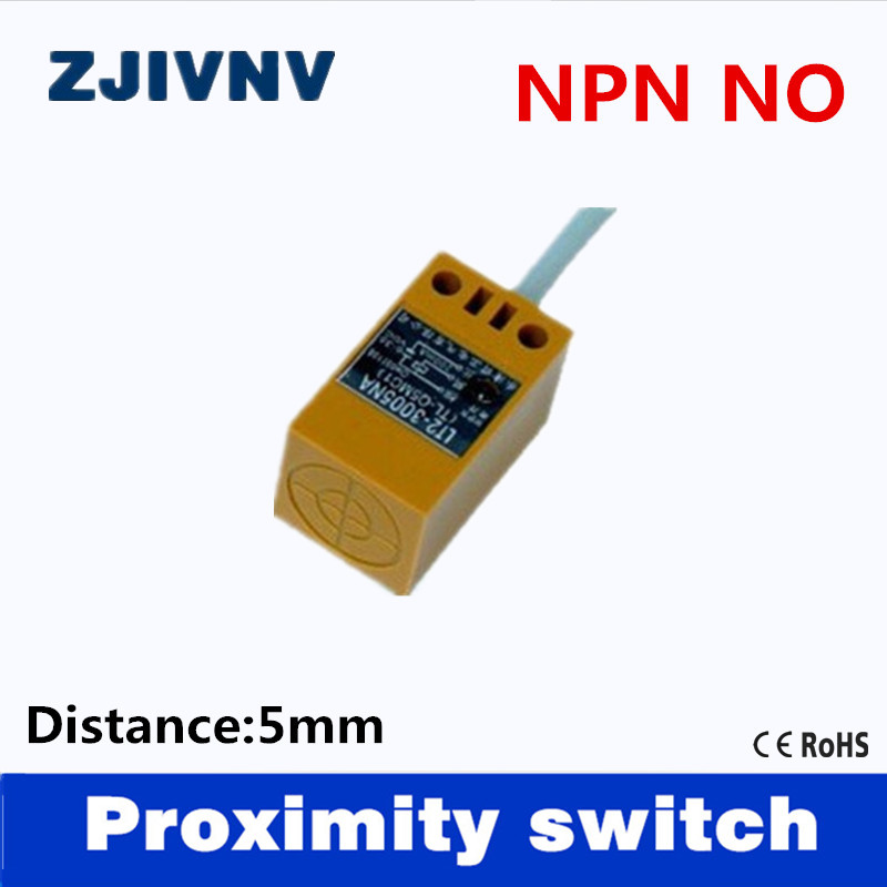 High quality ZJIVNV Angular column type NPN NO DC 3 wires inductve ...