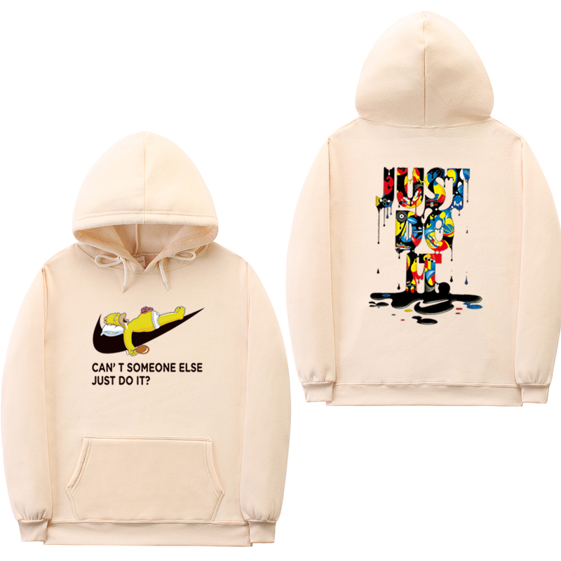 Nuovo just do it hoodies moda streetwear off bianco felpa mens donne hip hop con cappuccio sweat homme hoodies uomini