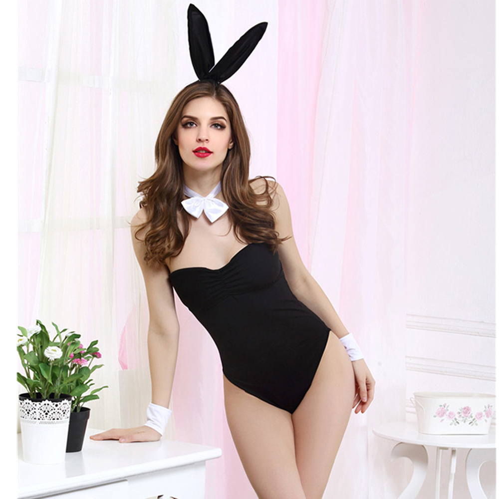 2018 <font><b>Sexy</b></font> Leopard Lingerie Erotic <font><b>Sexy</b></font> <font><b>Costumes</b></font> <font><b>Sexy</b></font> Rabbit Cosplay Uniforms Role Play <font><b>Costumes</b></font> <font><b>Halloween</b></font> <font><b>Costumes</b></font> <font><b>for</b></font> <font><b>Women</b></font> Sex image
