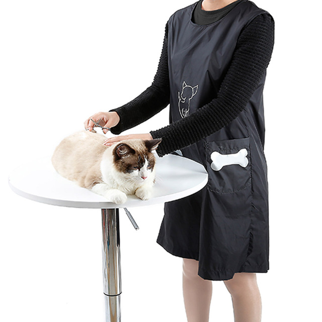Nylon Grooming Apron with Pockets 1