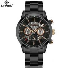 2016 LIANDU Men Watches Top Brand Luxury Men's Military Wrist Watches Men Sports Quartz-Watch Waterproof Relogio Masculino 6009