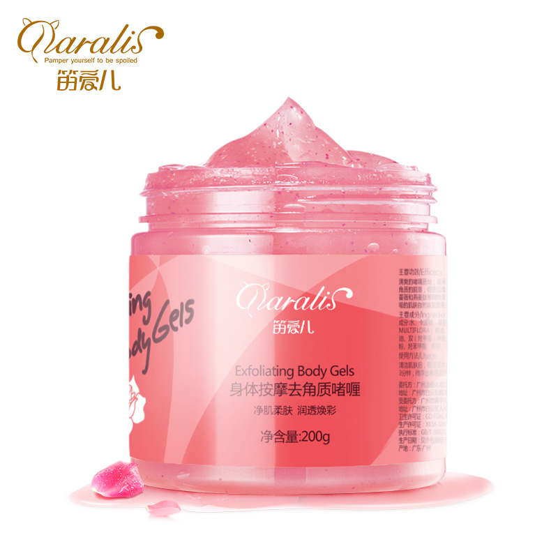 Daralis Body Massage Exfoliating Scrub Cream Gel Shrink Pores Dead Skin Calluses Moisturizing Whitening Body Cream Anti-Wrinkle