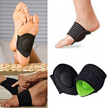 Hot Sale 1 Pair Foot Heel Pain Relief Plantar Fasciitis Insole Pads Arch Support Shoes Insert Pad DC88 gel heel cups pads for plantar fasciitis sore feet bruised foot pain relief bone spurs treatment shoes support protectors 2 p