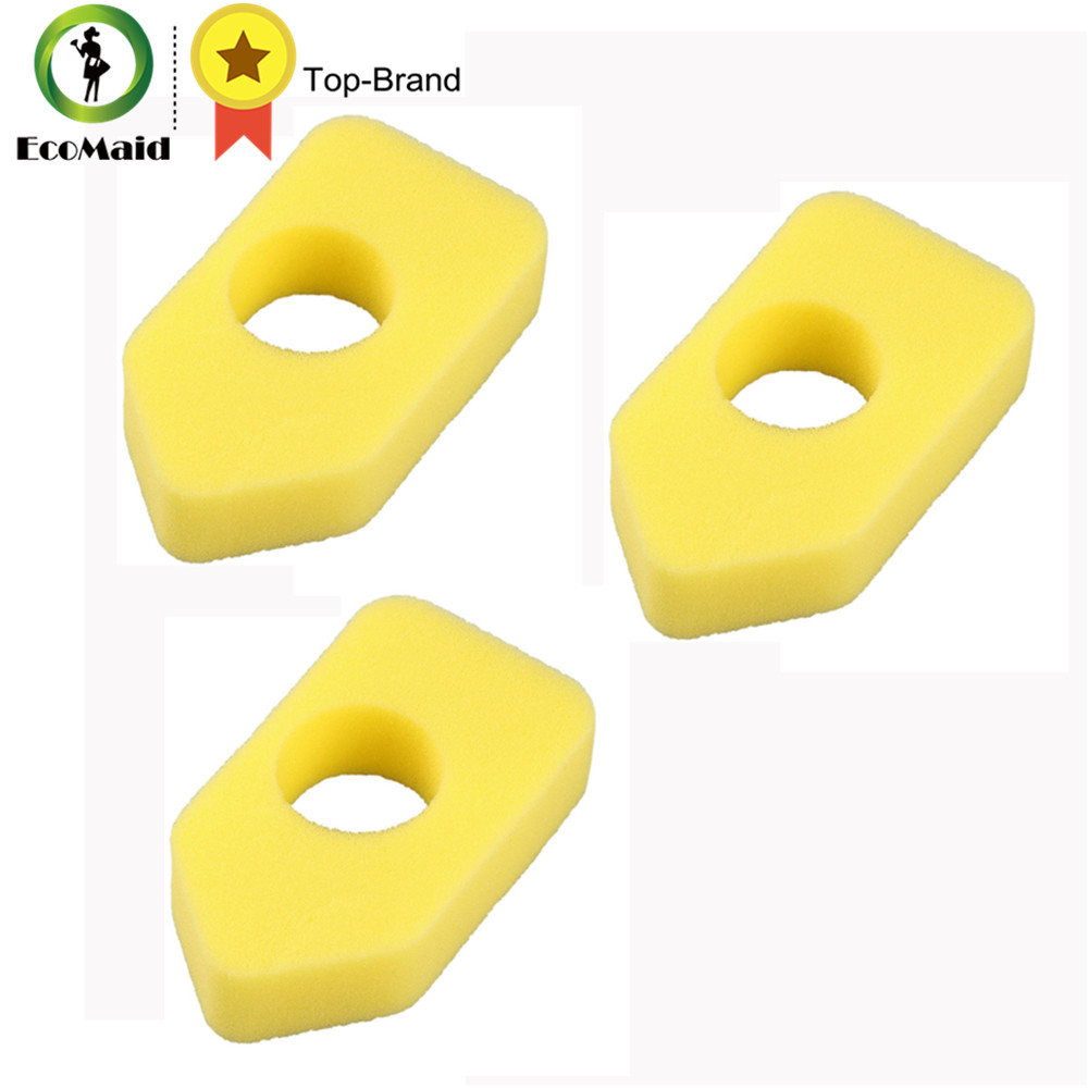 Air Filter Foam for Briggs & Stratto Replace Part#698369 Lawn Mower Sprint Clas 450-600 Series Motor Clean Part Filter Foam 3pcs new original jbl synchros reflect best bass stereo hifi sports earphone for iphone earbuds headsets with mic pk se215 se535