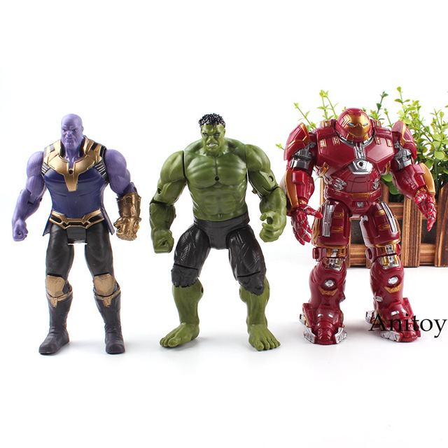 Marvel Avengers Superhero and Supervillain Thanos Hulk ...