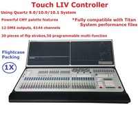 New Arrival Touch LIV Controller Large Outdoor Indoor Professional Stage Lighting Console With 12 DMX