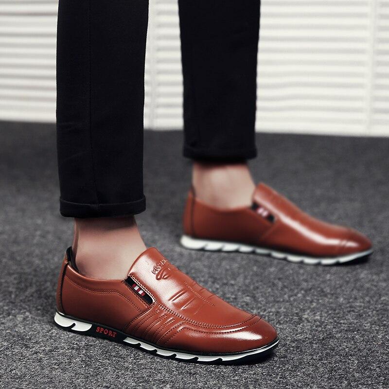 Loafer Shoes for Men Brown - MiraShop