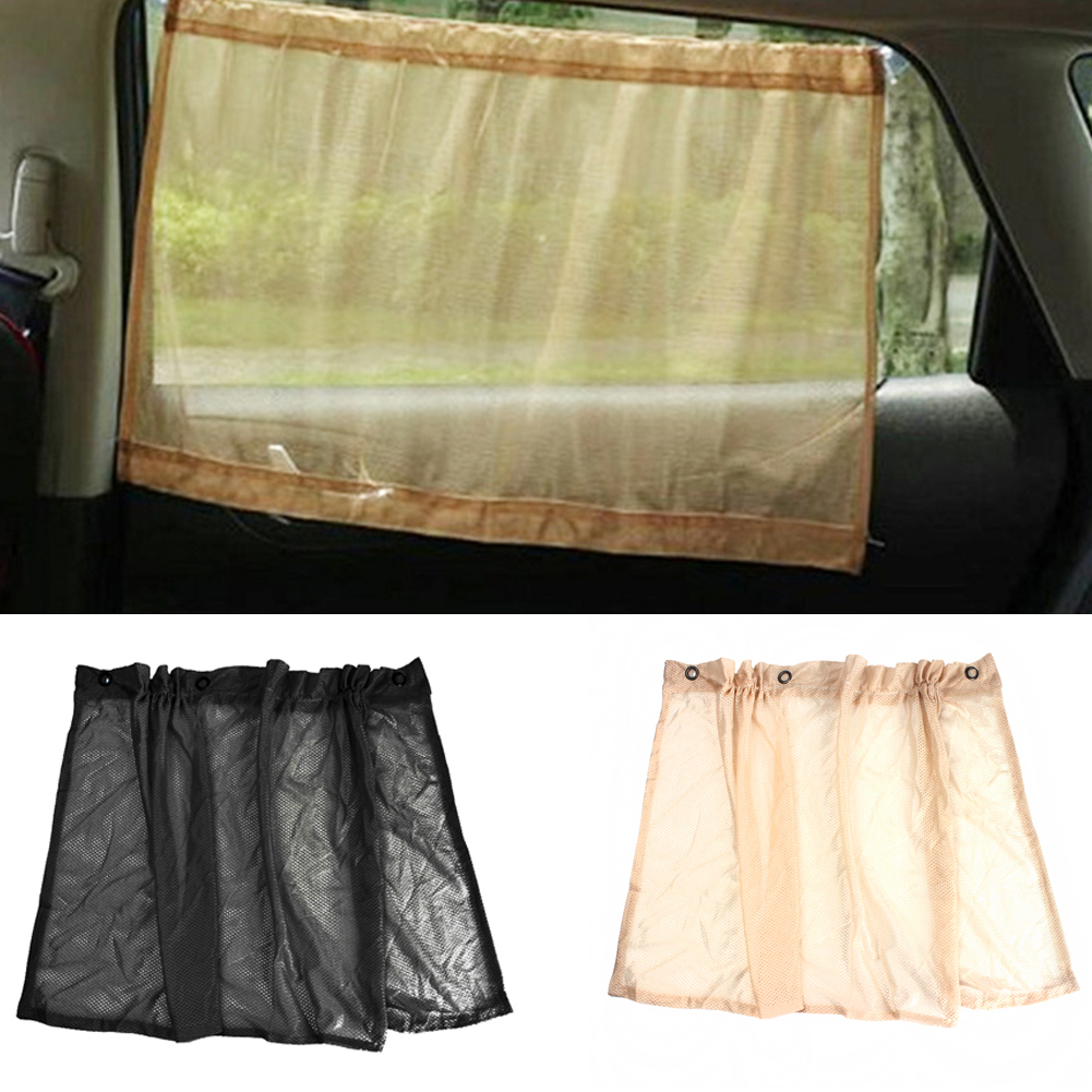 2017 hot sale black creamy white car sun shade side window curtain auto interior uv protection. Black Bedroom Furniture Sets. Home Design Ideas