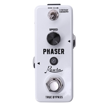 Rowin Lef - 313 Guitar Effects Classical Phaser Mini Guitar Effects Pedal Guitar Two Working Modes True Bypass Design