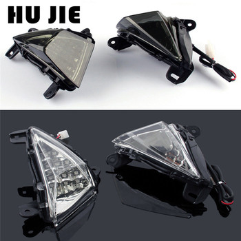 Motorcycle Front LED Turn Signals Blinker Indicator For Kawasaki Ninja ZX14R ZX10R ZX636/ZX6R