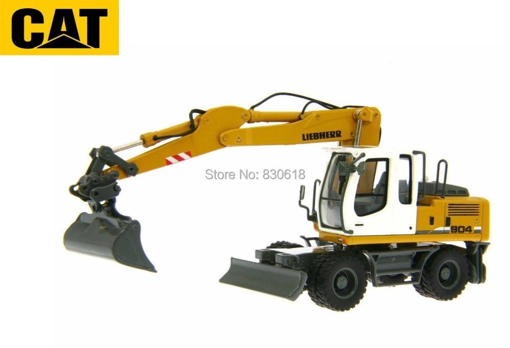 1:50 Norscot Liebherr A904C A 904 C Hydraulic Excavators Diecast Model Toy 58004 Construction vehicles 1 50 liebherr r 944 c hydraulic excavator industrial toy