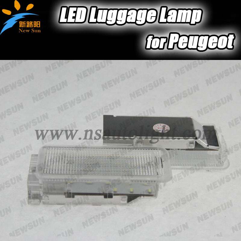 High Quality 18SMD LED Luggage Compartment Light for Peugeot 1007 406 206 407 206 5008 207