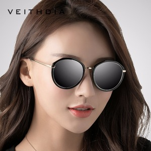 Image 3 - VEITHDIA Acetate Frame Womens Sun glasses Polarized Mirror Lens Luxury Ladies Designer Sunglasses Eyewear For Women oculos 3050