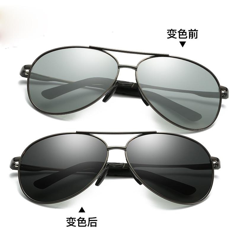 cd6cdbc51b ZJHZQZ Women s UV400 Fishing Fashion Polarized Photochromatic Sunglasses  Outdoor Driving Running Transition Chameleon Lens-in Sunglasses from  Apparel ...