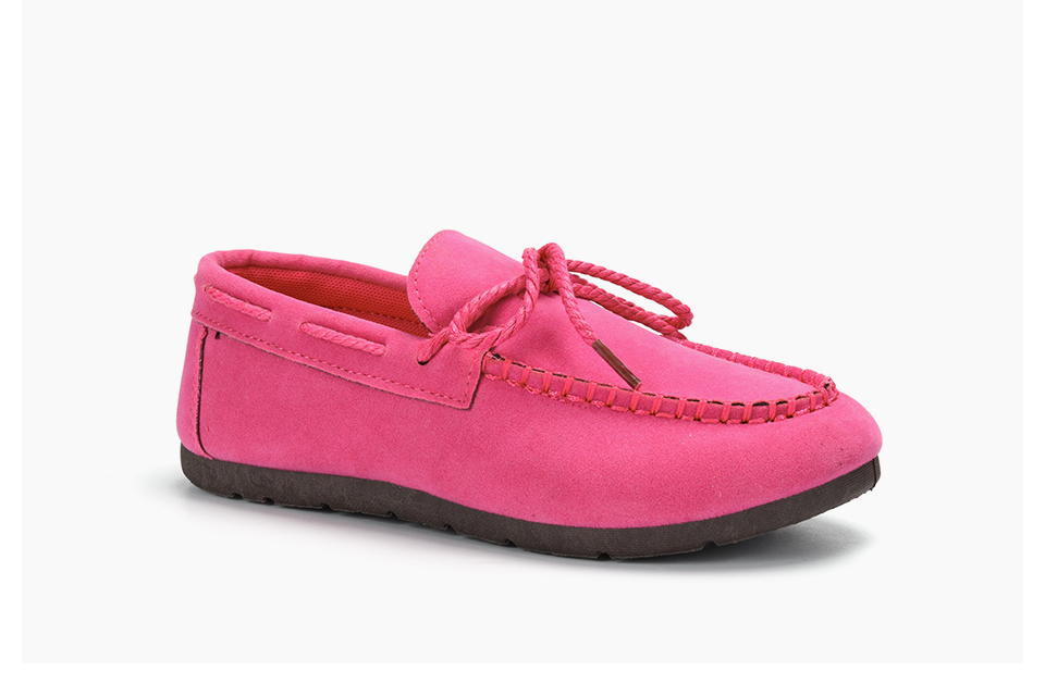 Moccasin womens four colors autumn soft brand top quality fashion suede casual loafers #WX810401 86