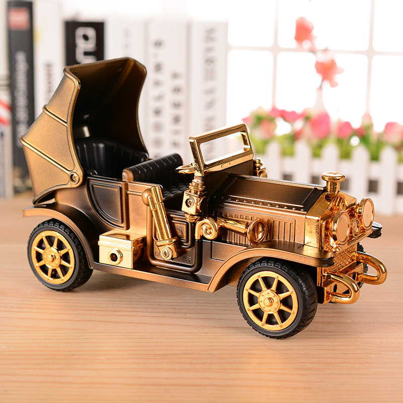 Ретро-винтаждық Car Music Box автомобиль - Үйдің декоры - фото 2