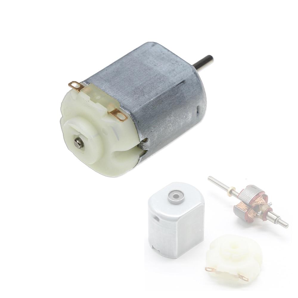 Envío gratis 3V 0.2A 12000RPM 65Gcm Mini Micro DC Motor para el bricolaje juguetes aficiones Motor de Automóvil inteligente