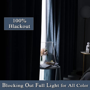 Image 3 - Linen 100% Blackout Curtains For Kitchen Bedroom Window Treatment  Solid Water Proof Curtains for Living Room Custom Made
